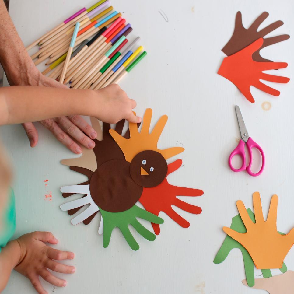 No Mess Thanksgiving Crafts Parenting Tlc Com