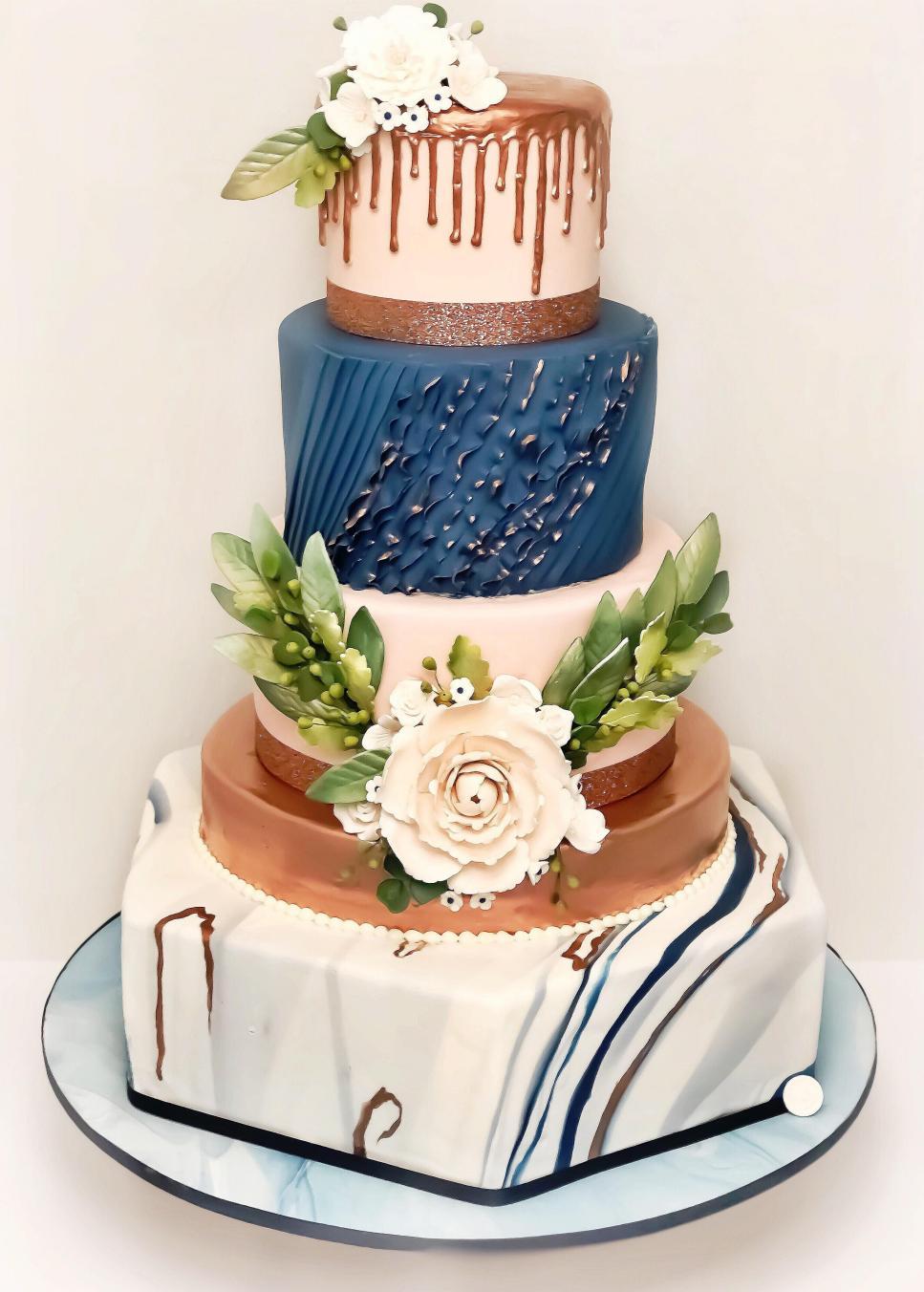 New Wedding Cake Trends In 2019 Weddings Tlc Com