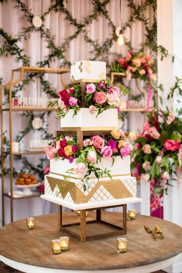 Extravagant cakes most wedding Expensive Wedding