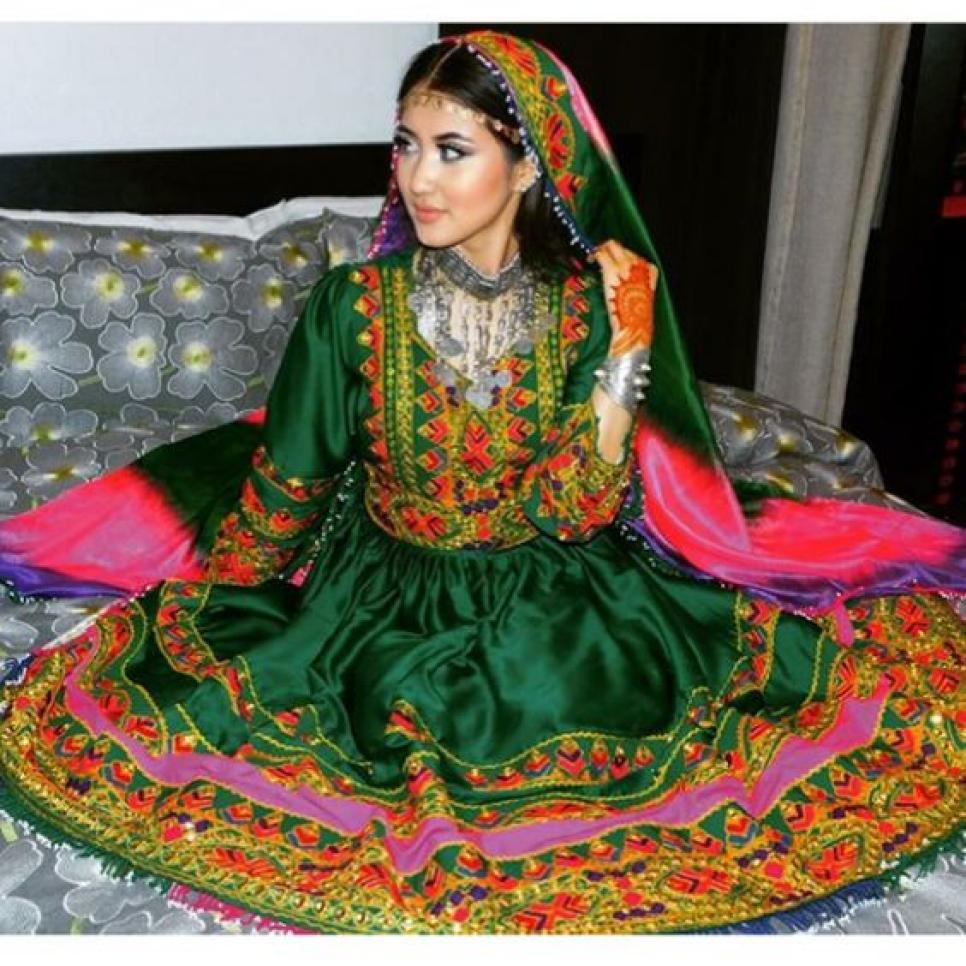 Afghan Wedding Gowns: Beautiful Wedding Dresses Around The World