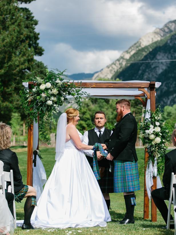 Sister Wives Daughter Aspyn Browns Wedding Photos