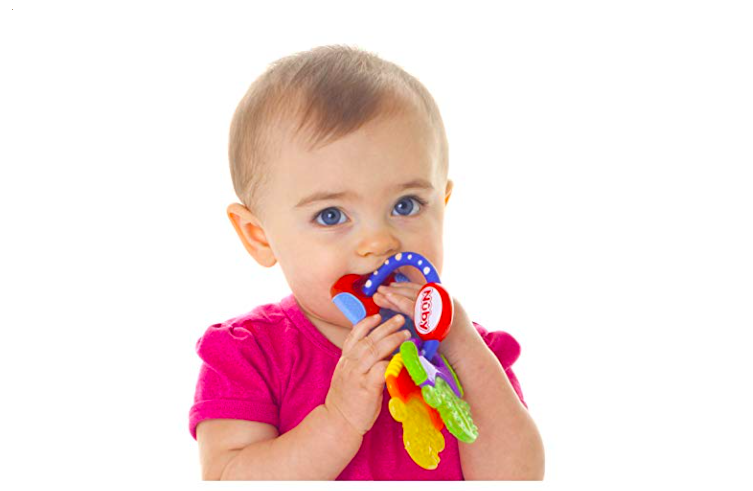 Baby teether molar infant training tooth toddler toys massager EP