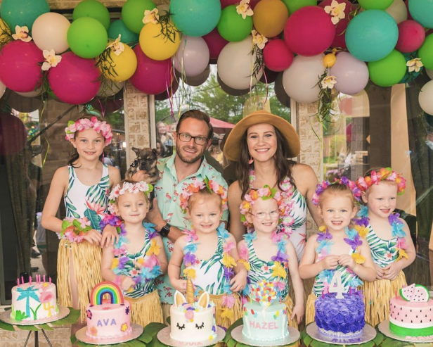 See the OutDaughtered Girls' Birthday Celebration and New Puppy