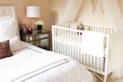 5 Ways to Make a Crib Work in Your Bedroom   Parenting   TLC.com