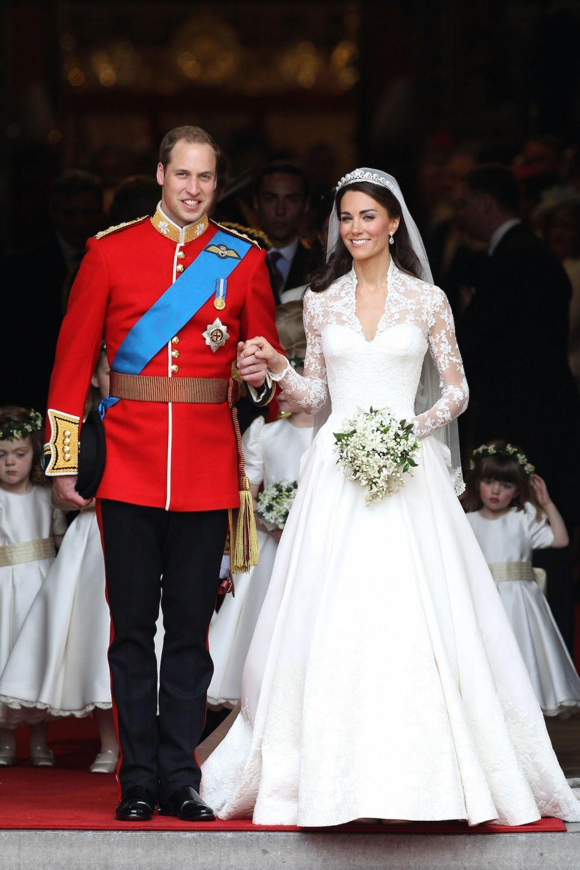 11 celebrity bridal gowns inspiredkate middleton's