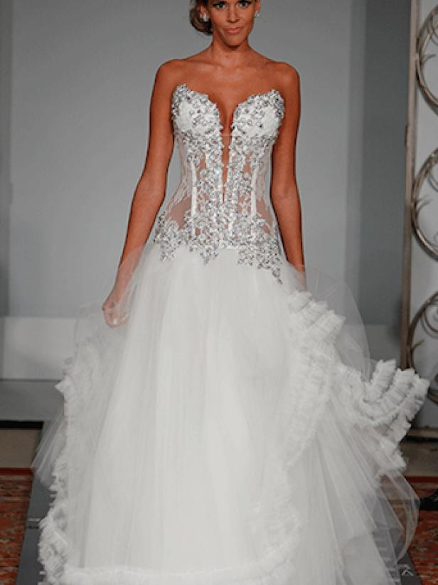 Pnina Tornai S 10 Most Blinged Out Wedding Gowns Life