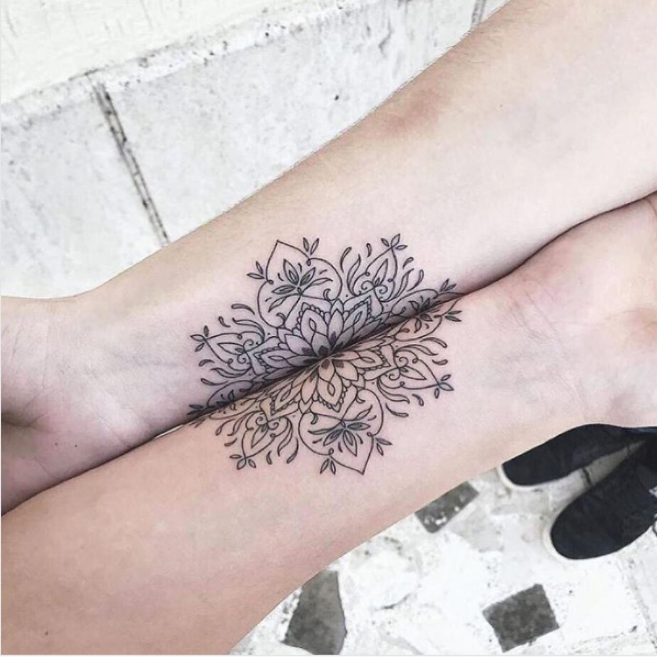 Girly Best Friend Tattoos: 5 Ideas For Best Friend Tattoos That Are Actually Awesome